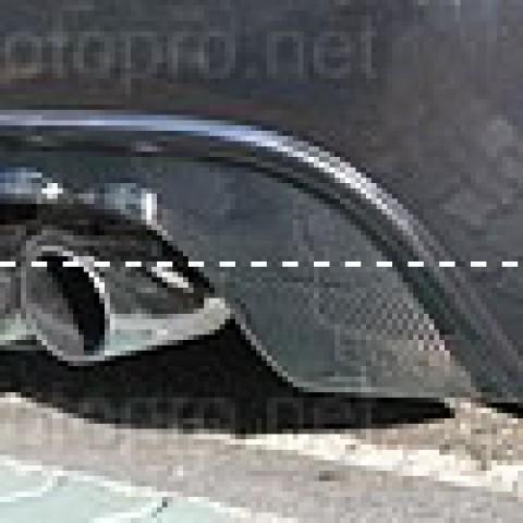 Lip pô, ốp bô, ống xả, cản sau xe Volkswagen Golf 5 GTI