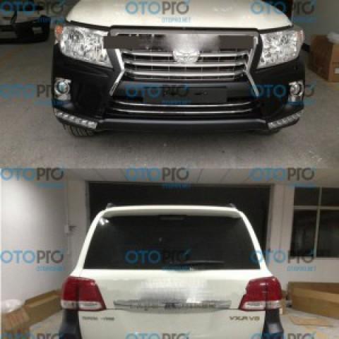 Bodylip cho Land Cruiser 2013 mẫu LX570 nhập khẩu Đài Loan