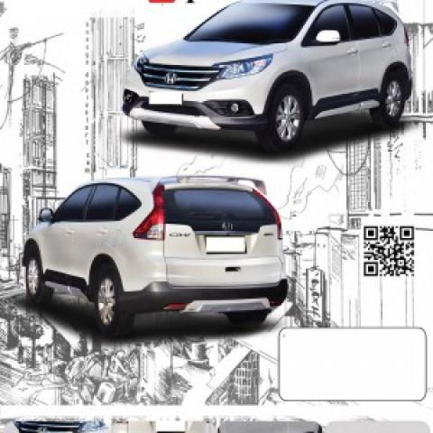Body lip cho Honda CR-V 2013 mẫu Z1