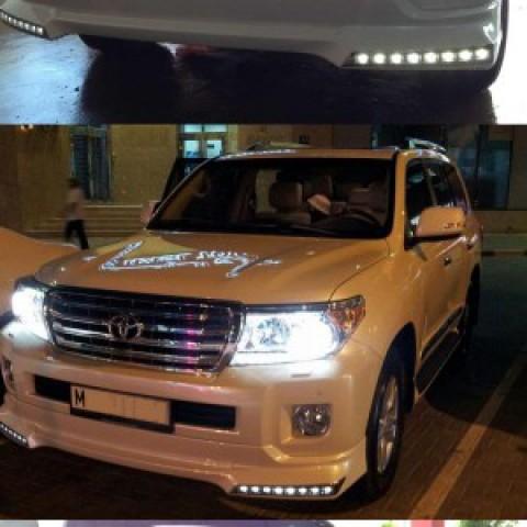 Bodylip cho Land Cruiser 2013 mẫu Modellista V2 nhập khẩu Đài Loan