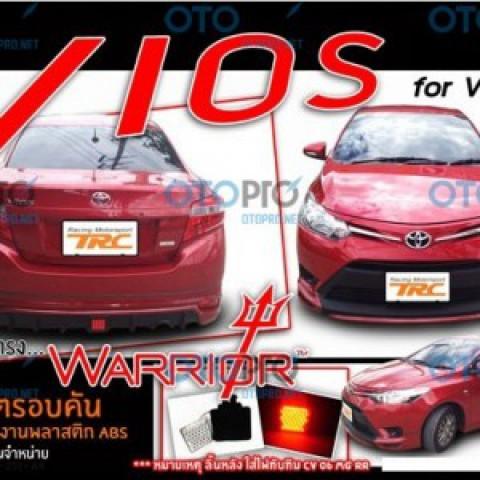 Bodylip cho Vios 2014-2016 mẫu Warrior nhập khẩu Thái Lan
