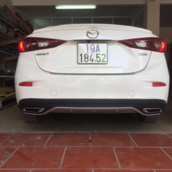 Mazda 3 2018 độ lip po mẫu Mazda 6