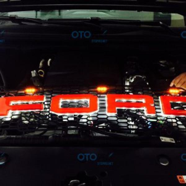 Mặt calang độ có LED cho xe Ranger 2016