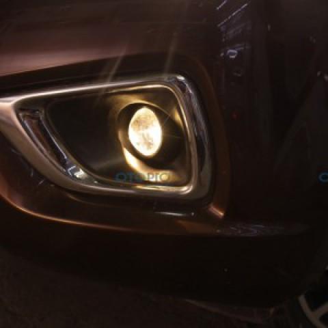 Độ bi gầm 2 chế độ pha-cos cho Nissan Navara 2015-2016
