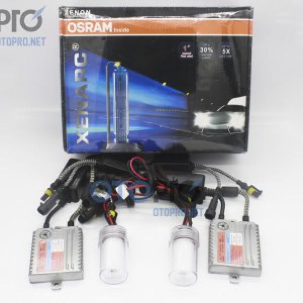 Bộ bóng xenon, ballast Osram chính hãng chân H11 4200k Cho xe Ford Ranger
