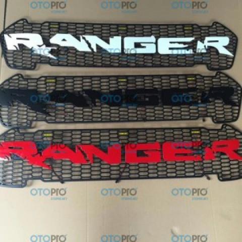 Ốp mặt calang chữ Ranger cho Ford Ranger 2016