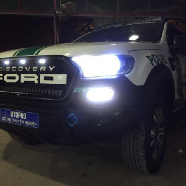 Ford ranger lên body Raptor
