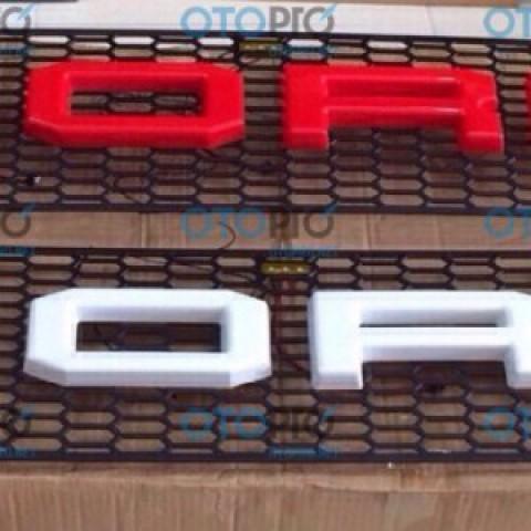 Ốp mặt calang có chữ FORD cho Ford Ranger 2015-2016
