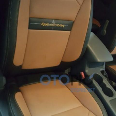 Bọc đệm ghế da cho xe Ford Ranger Wildtrak 2016