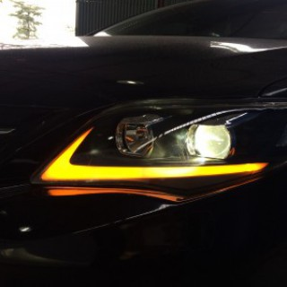 Altis 2013 thay đèn NB mẫu Lexus