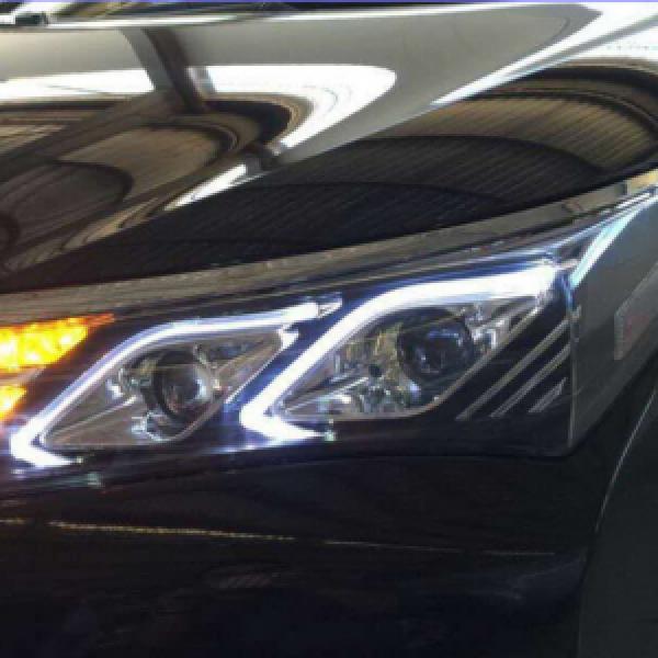 Đèn pha độ LED nguyên bộ xe Altis 2014-2016 mẫu Mercedes