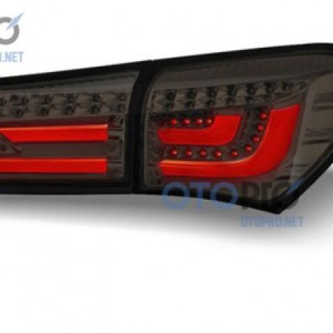 Đèn hậu độ LED nguyên bộ xe Altis 2015-2016 mẫu BMW kiểu khói