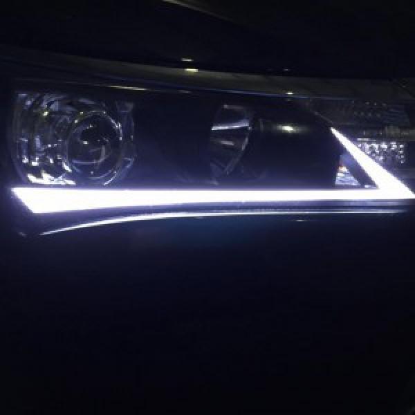 Độ LED mí khối độ tay xe Toyota Altis 2016-2017