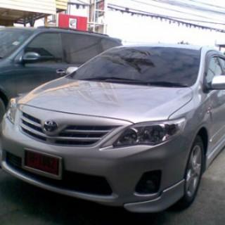 Bodylip cho Toyota Altis 2010 mẫu MC