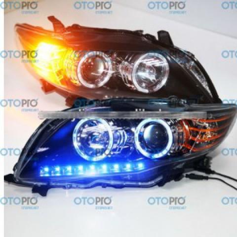 Đèn pha độ LED nguyên bộ xe Toyota Altis 2008-2010