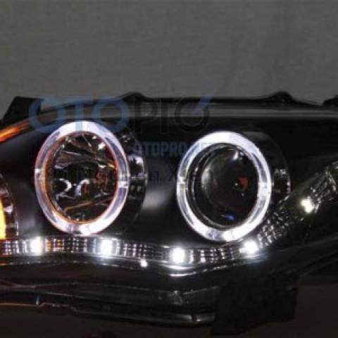 Đèn pha độ LED nguyên bộ cho xe Toyota Altis 2009-2010