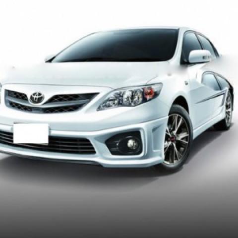 Bodylips cho xe Toyota Altis 2011-2012 mẫu TRD