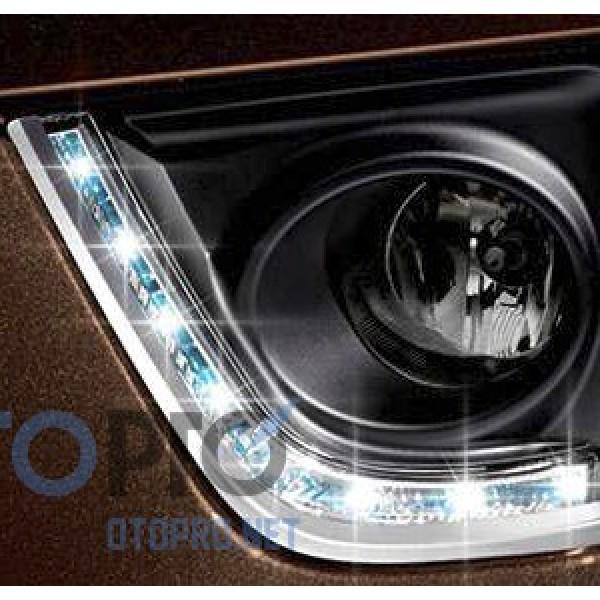 Ốp trang trí đèn gầm độ LED 2 màu cho xe Altis 2014