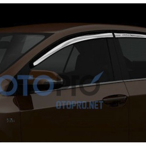 Vè che mưa mạ crôm cho xe Toyota Altis 2014