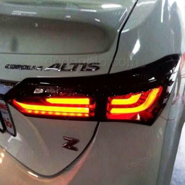 Đèn hậu độ LED nguyên bộ cho xe Altis Corolla 2014 mẫu BMW
