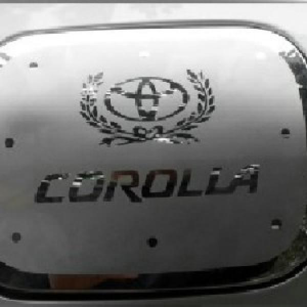 Ốp nắp bình xăng cho Corolla Altis