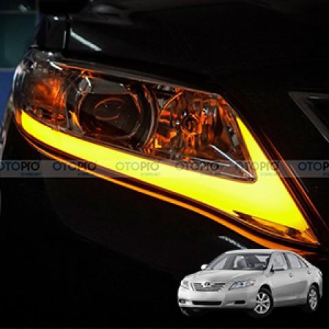 Toyota Camry LE 2009 lên bi gầm, đèn pha nguyên bộ mẫu Lexus