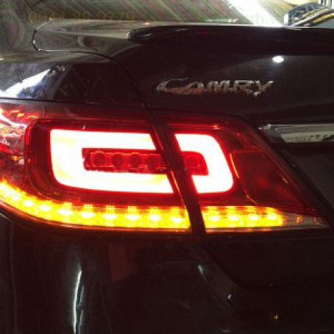 Độ đèn Hậu, Led khối cho xe Camry nhập 2010