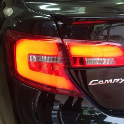 Camry LE xuất mỹ 2014 thay đèn hậu nguyên bộ