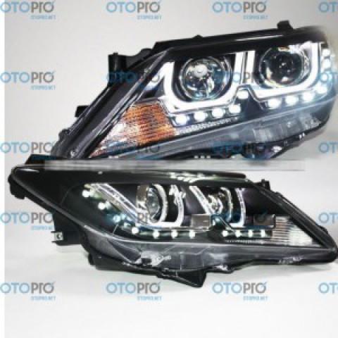 Đèn pha độ LED nguyên bộ xe Toyota Camry 2012-2013 mẫu LTZ