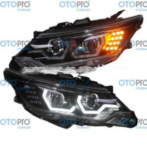 Đèn pha độ LED nguyên bộ xe Toyota Camry 2015 mẫu LD