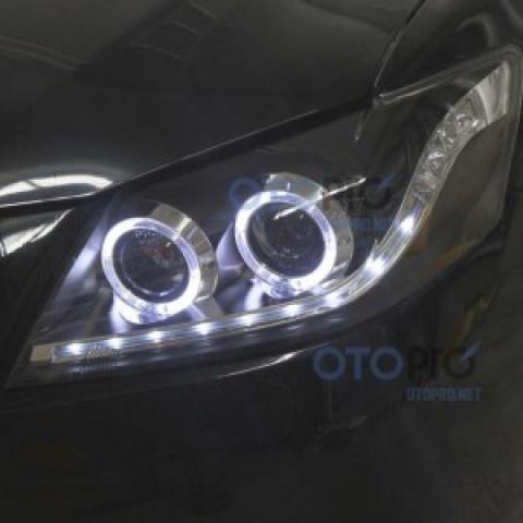Đèn pha độ LED nguyên bộ cho xe Camry 2.4 đời 2010
