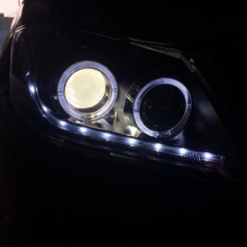 Camry 2010 Thay đèn nguyên bộ
