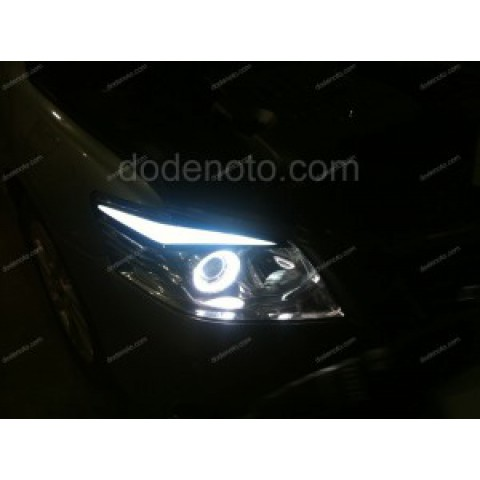 Độ Angel Eyes, LED mí khối cho xe Toyota Camry 2010
