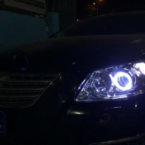 Toyota Camry 2010 độ bóng Hella 5 tăng sáng 150%