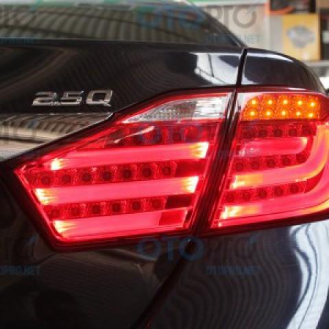 Đèn hậu độ LED nguyên bộ cho xe Camry 2012 2.5Q kiểu BMW