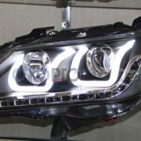 Đèn pha độ LED nguyên bộ cho xe Camry 2012 kiểu BMW