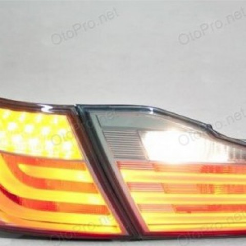 Đèn hậu độ LED nguyên bộ cho xe Camry 2013 mẫu Hybrid