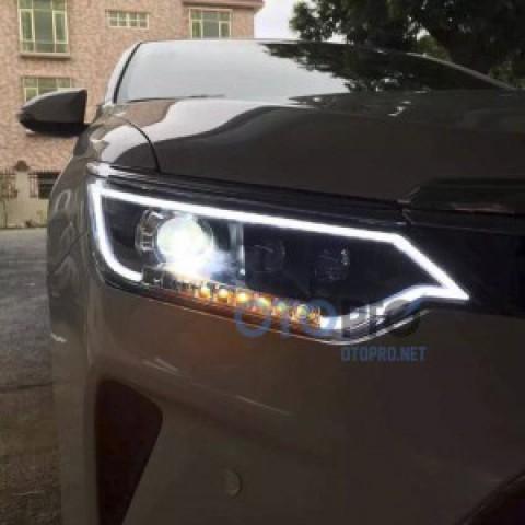 Đèn pha độ nguyên bộ xe Camry 2015 mẫu bi LED kiểu Audi