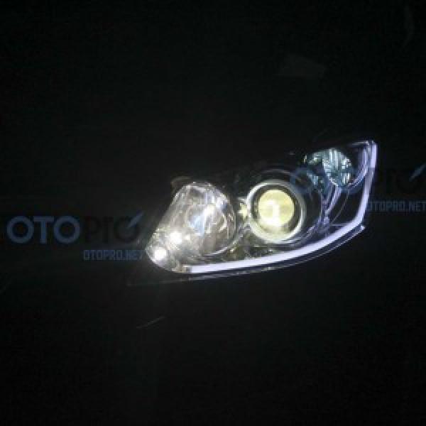 Độ bi Audi Q5, LED mí khối, angel eyes BMW Camry 3.5Q