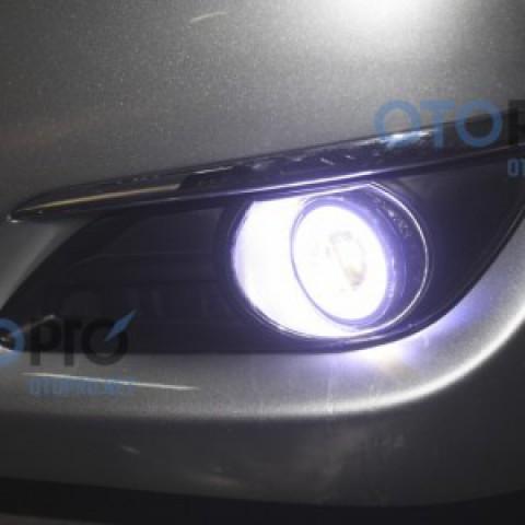 Độ đèn bi gầm Osram cho xe Toyota Camry