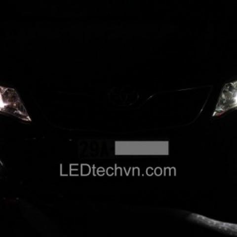 Độ đèn bi Xenon, Projector, đèn gầm LED cho xe Camry