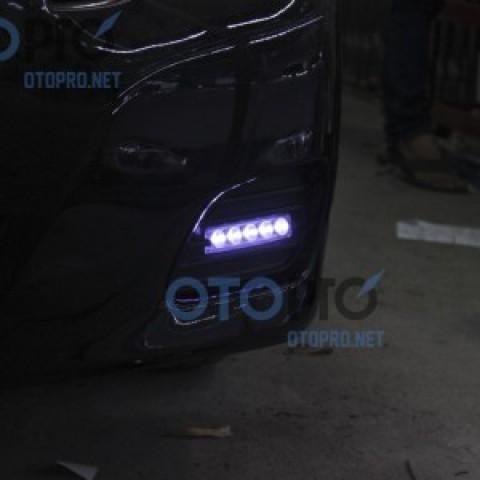 Độ đèn LED daylight đèn gầm xe Camry