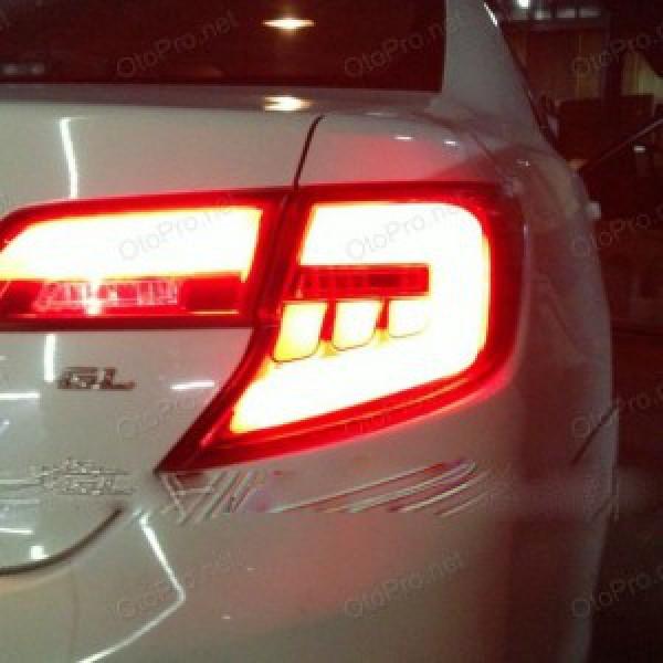 Đèn hậu độ LED nguyên bộ cho xe Camry LE 2013 xuất Mỹ