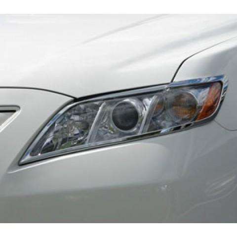 Viền đèn trước Toyota Camry mạ Crom