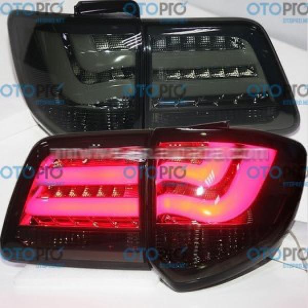Đèn hậu độ LED nguyên bộ xe Toyota Fortuner 2012-2014 màu khói