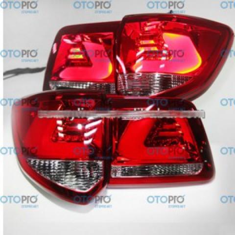 Đèn hậu độ LED nguyên bộ xe Toyota Fortuner 2012-2014 mẫu YZ