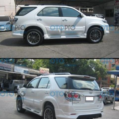 Bodylip cho Fortuner 2012-2015 mẫu Lotus nhập khẩu Thái Lan