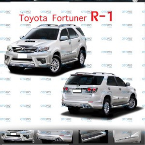 Bodylip cho Fortuner 2012-2015 mẫu R1