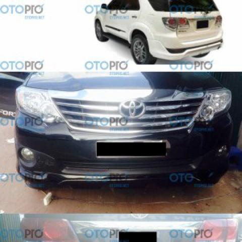 Bodylip cho Fortuner 2012-2015 mẫu TRD Sportivo nhập khẩu Thái Lan