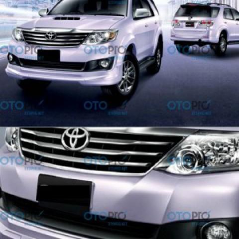 Bodylip trước cho Fortuner 2012-2015 mẫu T50 nhập khẩu Thái Lan